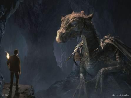 梅林傳奇 (Merlin) / 媒體中的龍 / 鱗目界域